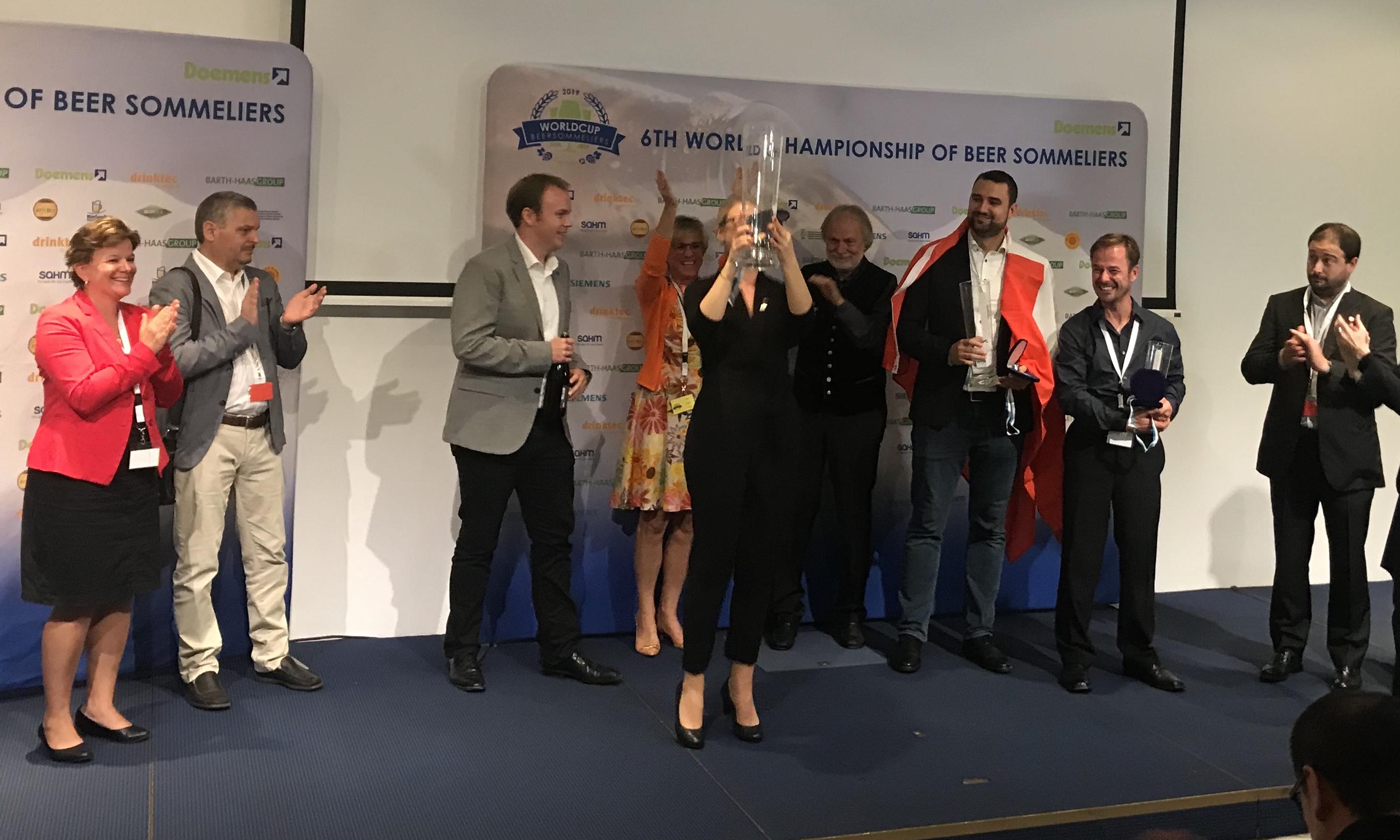 Elisa Raus is wereldkampioen biersommelier