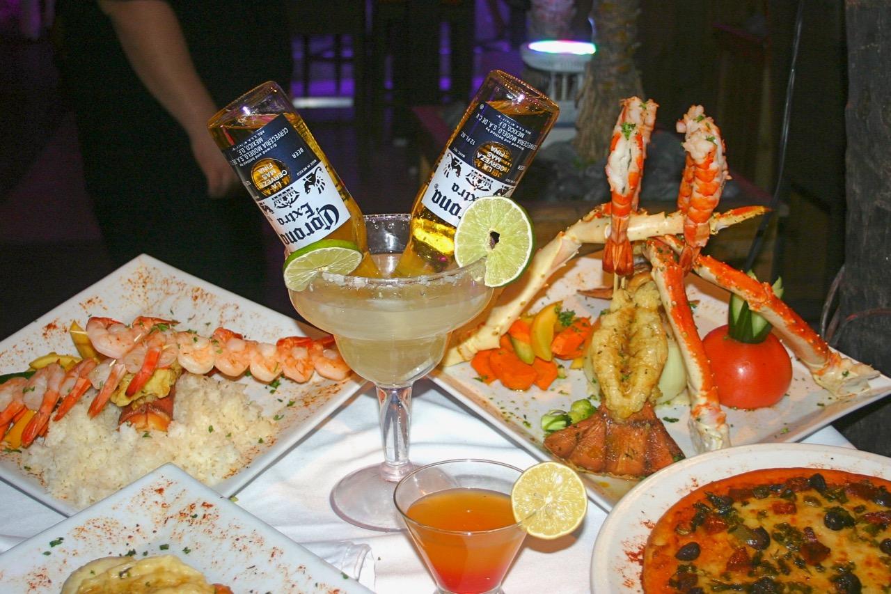 Corona aan tafel